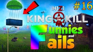 ONE IN A MILLION AIR DROP!... | H1Z1 KOTK - Funnies and Fails Ep. 16