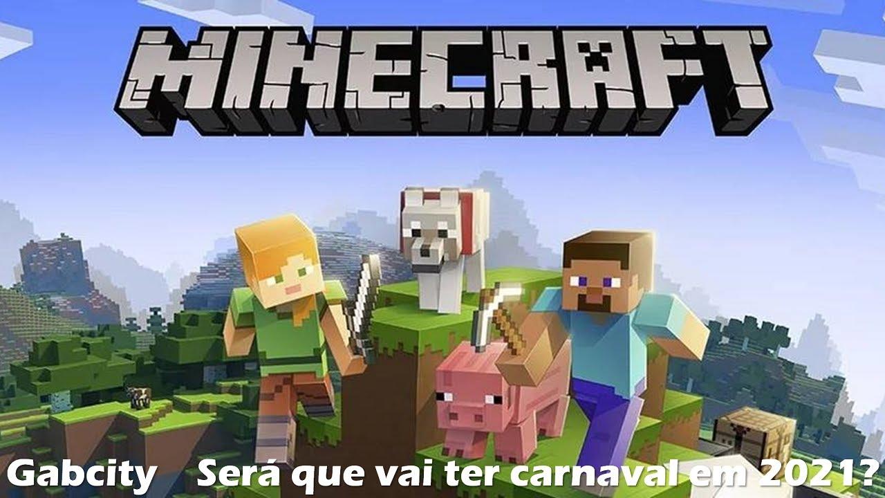 LIVE #12: Minecraft PS12 com inscritos - Será que vai ter carnaval em 12  assim como em 12?