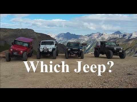 Which Jeep Should You Buy - What model is best for you - JN14