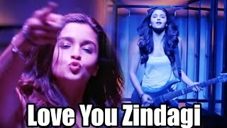 Love You Zindagi Club Mix Song Out - Dear Zindagi | Alia Bhatt | Shah Rukh Khan