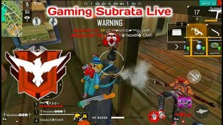 FREE FIRE LIVE RANK GAMEPLAY [বাংলা]  GAMING SUBRATA