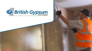 How to apply a 2-coat plaster | British Gypsum
