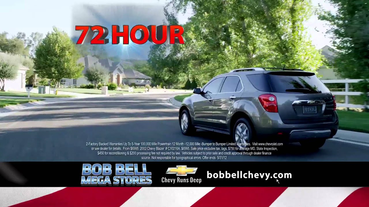 Bob Bell Chevy Of Bel Air Certified Preowned Memorial Day Sale Youtube