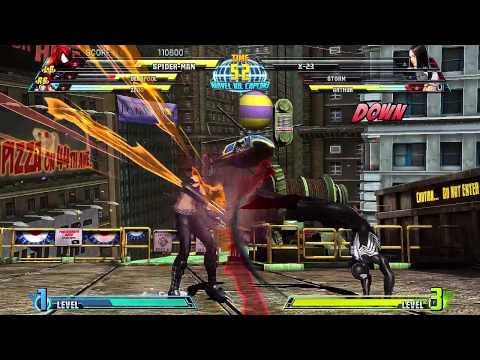 Marvel Vs Capcom 3 - Arcade Mode Playthrough