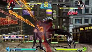 Marvel vs Capcom 3 - Arcade Mode Playthrough