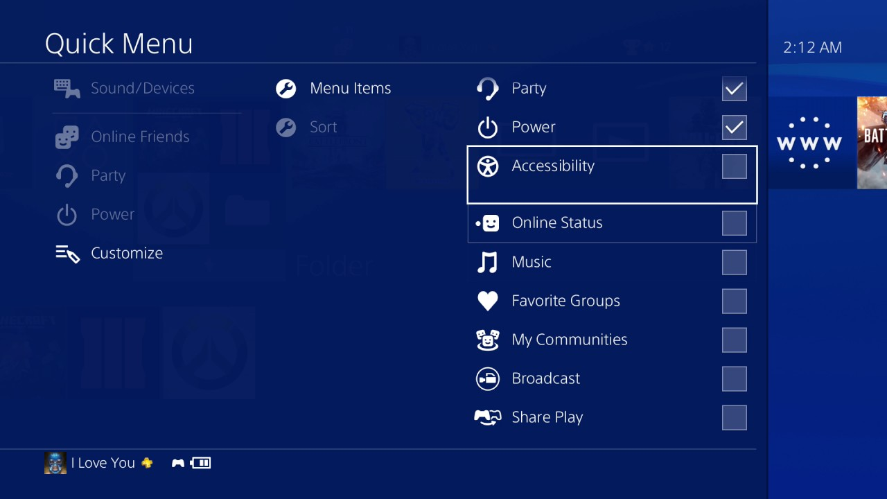 Image result for ps4 account customization
