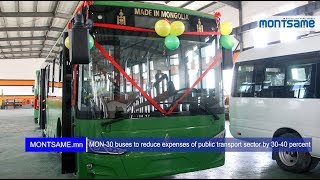 MON-30 buses to reduce expenses of public transport sector by 30-40 percent