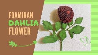 DIY Room Decor | Dahlia Flower Part 2 | | Home Decor Project