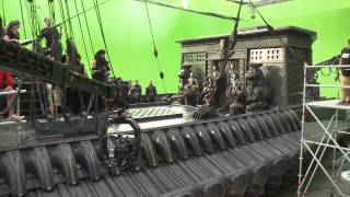 Как снимали 300 спартанцев: Расцвет империи #1 Behind the Scenes of 300 RISE OF AN EMPIRE
