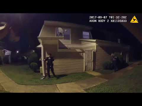 OIS Body Worn Camera footage - Tran Thompson