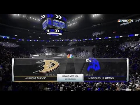"NHL17 Live | Franchise Mode | Minneapolis Hawks vs Anaheim ""Mighty"" Ducks"