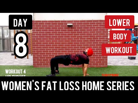 | DAY 8| LOWER BODY WORKOUT at home in Hindi