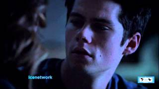 Teen Wolf - 3x20 - Stiles and Malia kiss scene