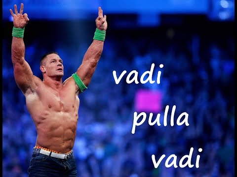 wwe remex vadi pulla vadi HD |John cena and Niki bella | edited by rk tamily