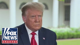 President Trump sits down with Judge Jeanine in exclusive interview