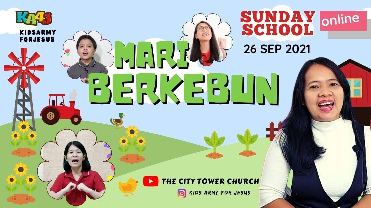 Ibadah Anak 26 September 2021 (GBI City Tower - Kids Army for Jesus)