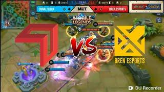 Game 3: Cignal Ultra vs. Bren E-Sports | Weeknight Showdown - Mobile Legends