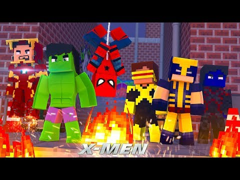 X-MEN #7 - AVENGERS MEET THE X-MEN! (Custom Mod Adventure)
