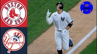 Yankees vs Red Sox Highlights (GAME OF THE YEAR) Sunday Night Baseball (Voiced by Wheels)