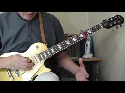 John Lee Hooker Guitar Lesson - Part 1 Tuning+ Boogies