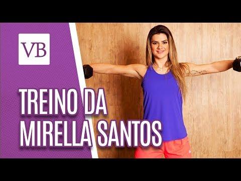 Treino da famosa: Mirella Santos - Você Bonita (22/08/18)