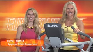 The Zero Runner by Octane Fitness, featuring Chris Freytag and Carrie Tollefson