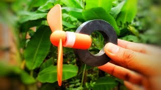 Free energy science experiments with magnet using dc motor - Awesome new ideas 2018