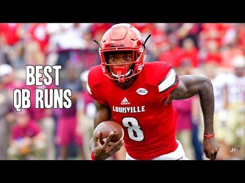 Best QB Runs of the 2016-17 College Football Season ᴴᴰ