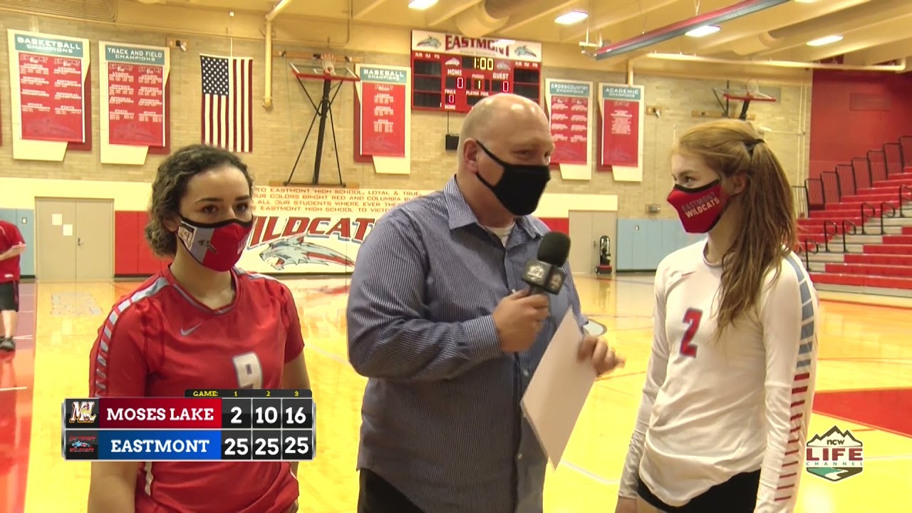 Eastmont vs Moses Lake Volleyball Highlights 2021-03-25