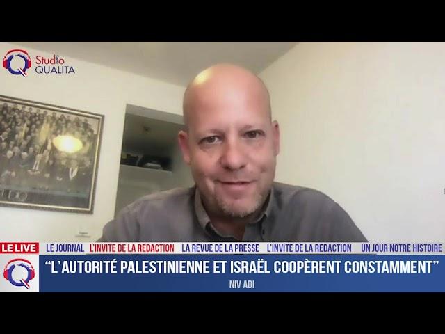 """""""L'autorité palestinienne et Israël coopèrent constamment"""" - L'invité du 11 juin 2021"""