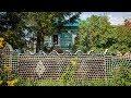 Поделки - Сибиряк построил забор из стеклянных бутылок