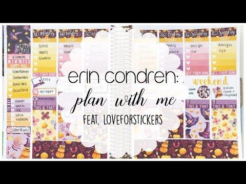 Erin Condren   Plan with Me feat. Loveforstickers