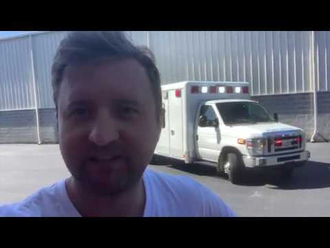 Crestline Coach Used Ambulance For Sale By Pilip Ambulances. This Ambulance Is Built To Last.