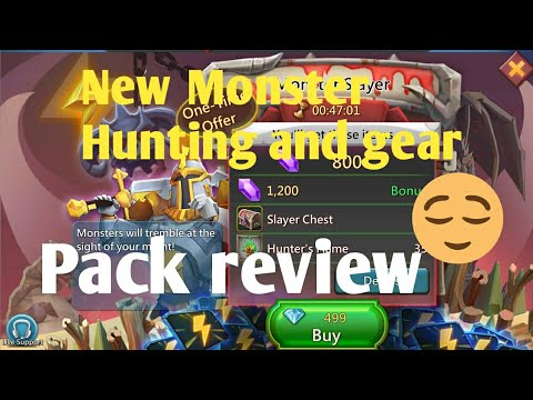 Lords Mobile New Monster Slayer And New Pack Review