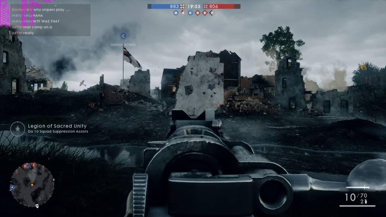 Battlefield 1 Sudden FPS Drops (Stuttering) GTX 1060