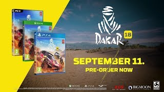DAKAR 18 - Release Date Announcement Trailer