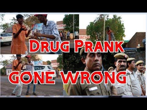Drug Prank In Public   Gone Ultimate Wrong