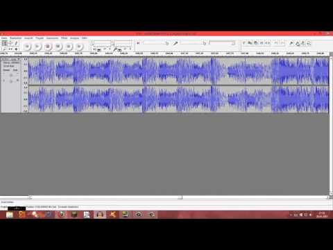 Wie erstelle ich einen remix mit Audacity