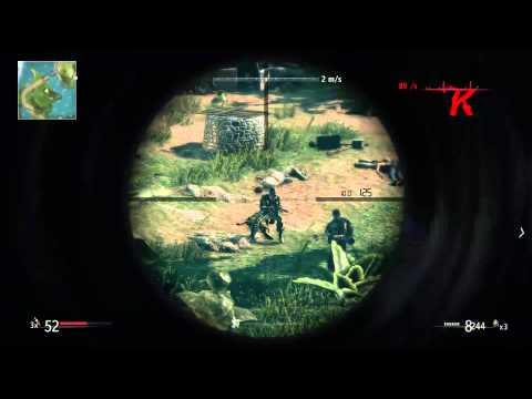 Sniper Ghost Warrior #5 Niszczenie broni przeciwlotniczej |
