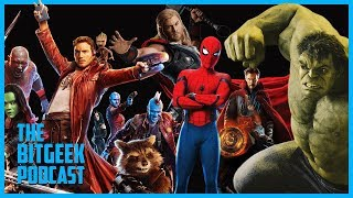 Ranking the Top 10 Movies from the Marvel Cinematic Universe (Part I) - BitGeek Podcast: Episode 45