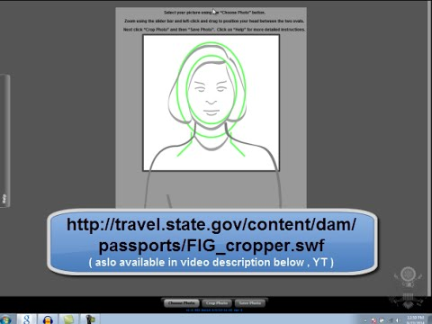 How To Fix/Edit & Crop Your DV LOTTERY Registration Photo/ Picture