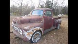 2015-11-07 Bell Rat Rod, Vintage Car & Truck Auction (lot 23 - 1952 Ford F100 Pickup)