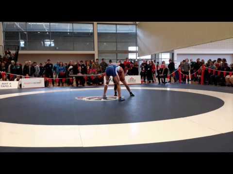 2015 Senior National Championships: 57 kg Trevor Banks vs. Melvin Arciaga