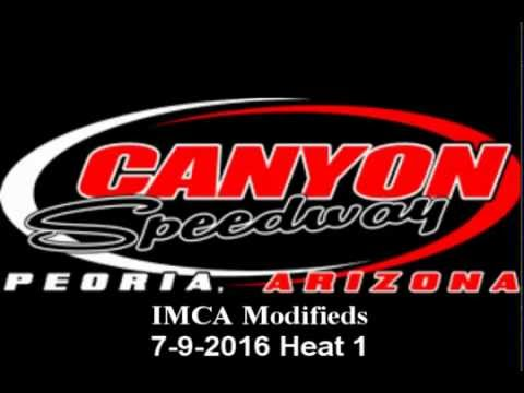 IMCA Modified Heat 1 Canyon Speedway 7-9-2016