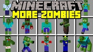 Minecraft ZOMBIE SURVIVAL MOD! | BUILD TO SURVIVE THE ZOMBIE APOCALYPSE! | Modded Mini-Game