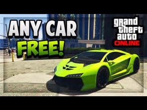 GTA 5 - How to get any free car!!!