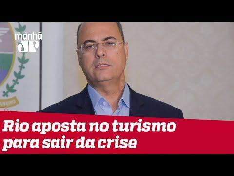 Witzel mira no turismo para fazer Rio de Janeiro sair da crise