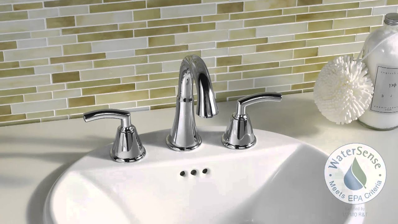 Tropic Bathroom Faucets by American Standard - YouTube