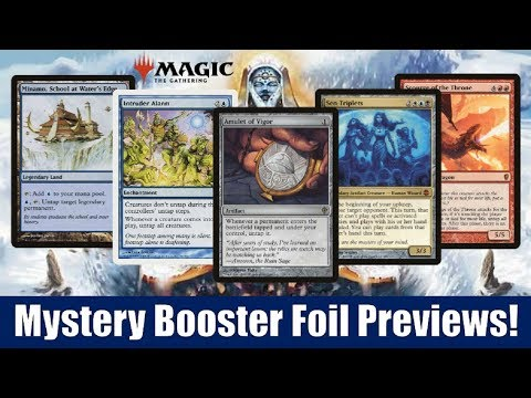 Magic The Gathering MTG Mystery Pack Foil Card Storm Crow