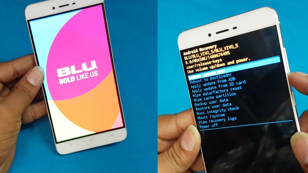 BLU Vivo 5 Hard Reset || Pattern unlock || BLU VIVO 5 Forgot Password  Recovery